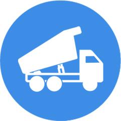 新型智能环保渣土车,全密闭+ECU管控
