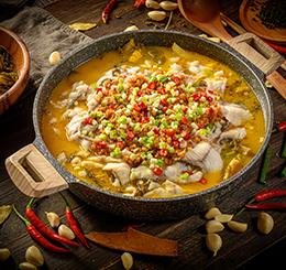蒜香老壇酸菜魚