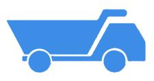 渣土车货箱识别状态,可实时获取车辆是否装货,是否举升,是否密闭等信息。