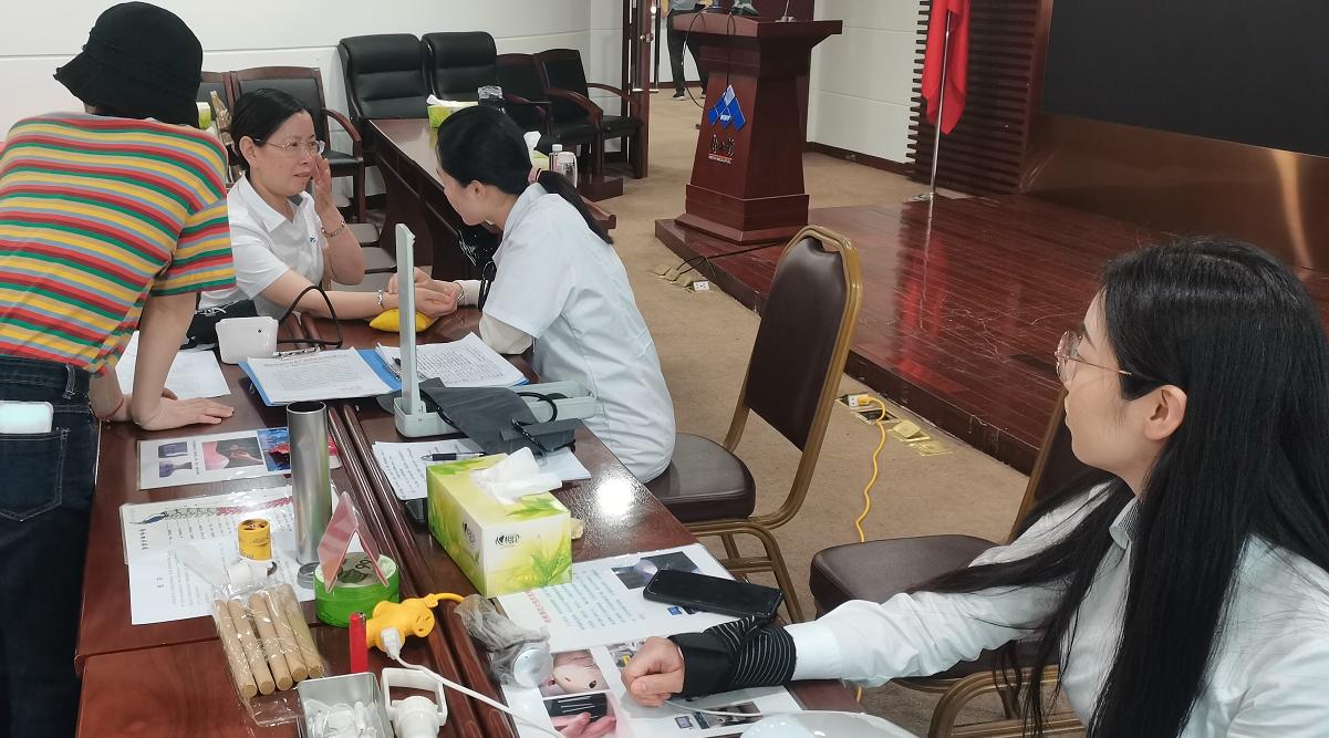 """以健康體魄迎建黨百年——新五豐開展""""我為群眾辦實事""""主題實踐活動"""