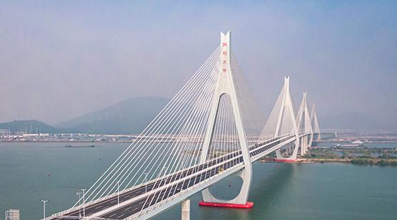 珠海洪鹤大桥通车
