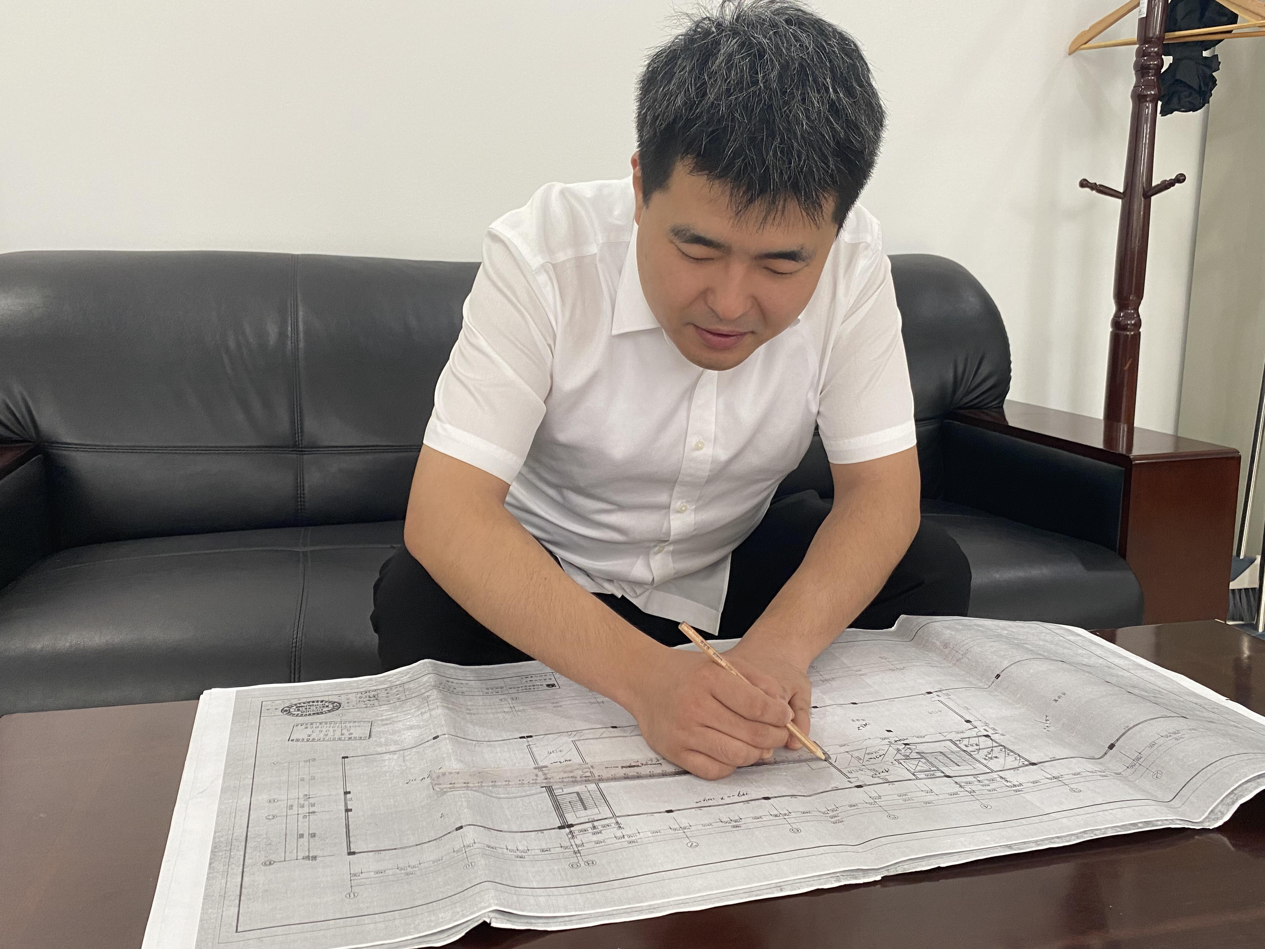 國控之星丨王琪越:把改造新辦公場所當成一場戰斗