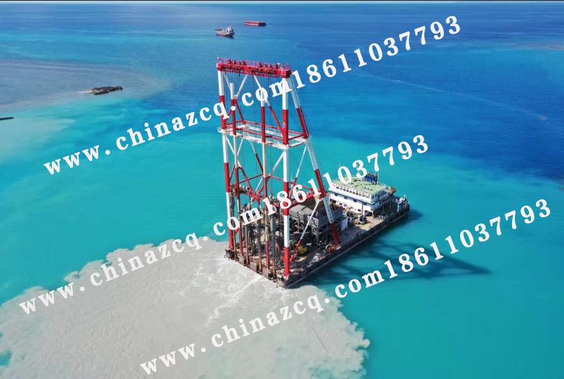 东帝汶帝巴湾集装箱码头振冲项目已顺利进行19个月