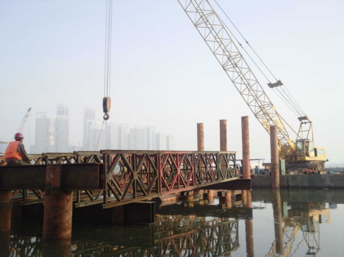 鋼棧橋工程