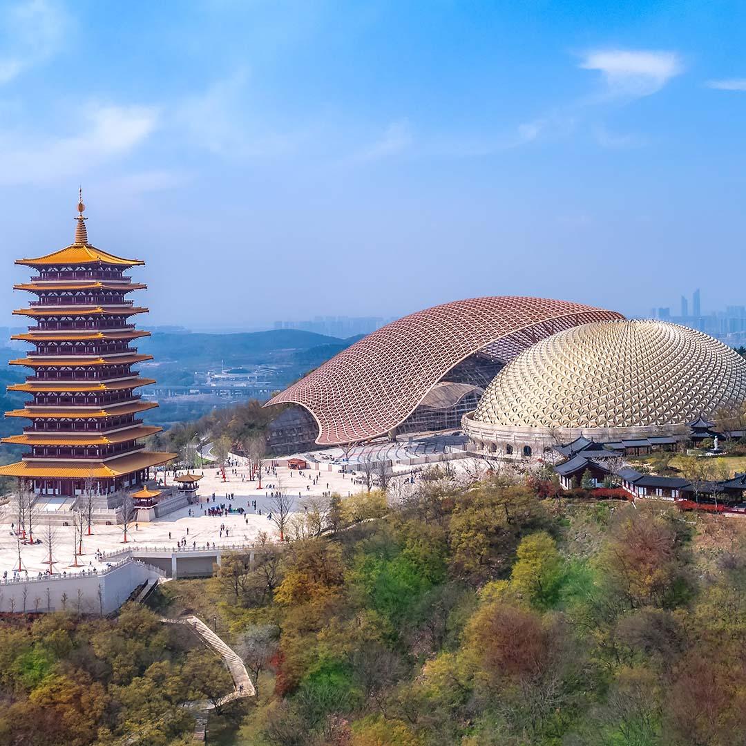 南京牛首山風景區信息發布顯示系統