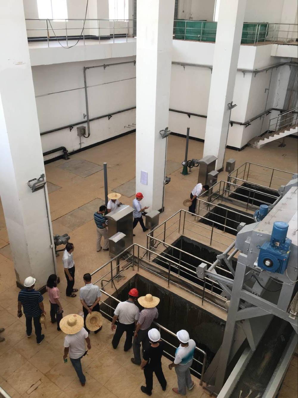 廣州石井污水處理二期工程設備采購及安裝工程
