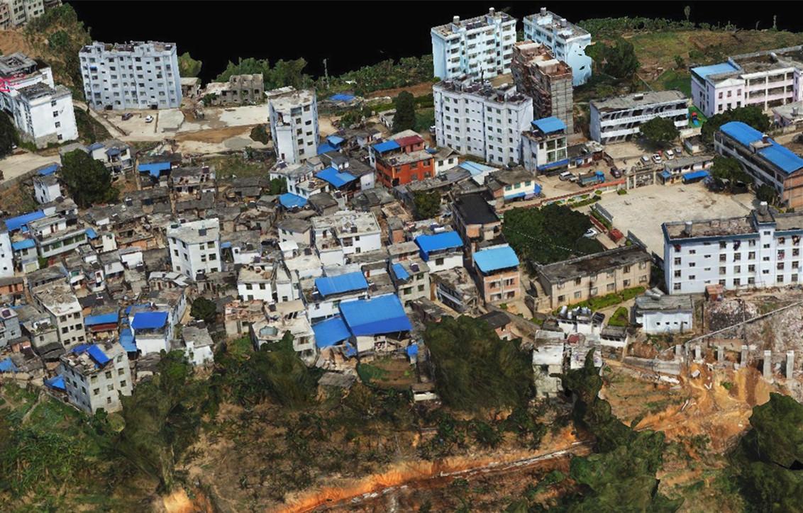 云南省紅河州傾斜攝影1:500項目