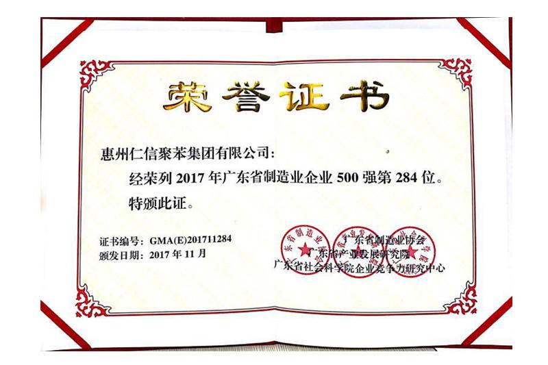 廣東省制造業500強