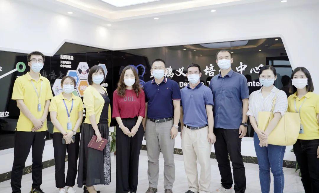 惠州衛生職業技術學院來企開展新冠疫情常態化防控工作指導