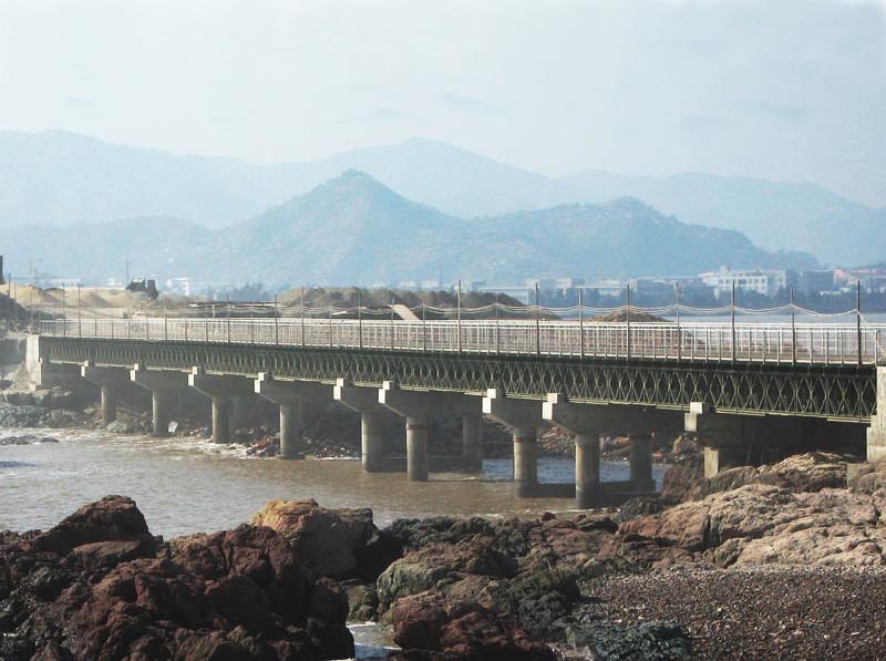 玉環漩門三期施工便橋