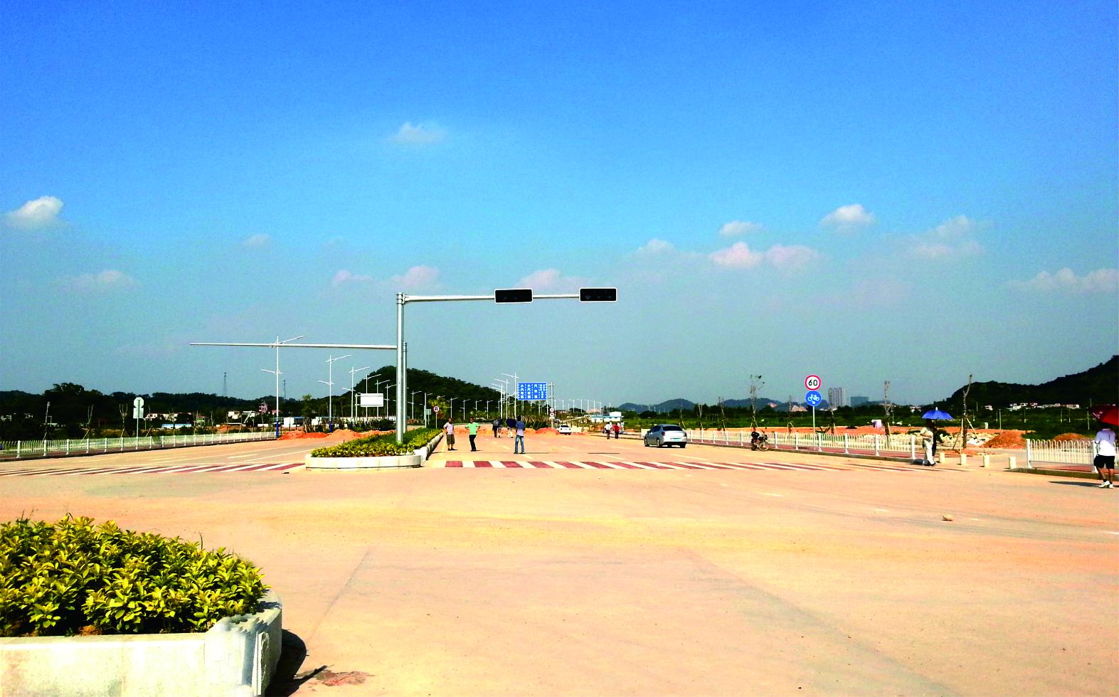 廣東省江門市濱江南路西段建設工程