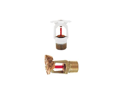 Y-FRB系列K=80 快速响应、标准覆盖面水平/垂直边墙型洒水喷头