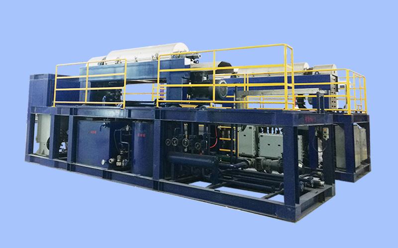 污油泥處理成套設備 Complete equipment for sludge treatment