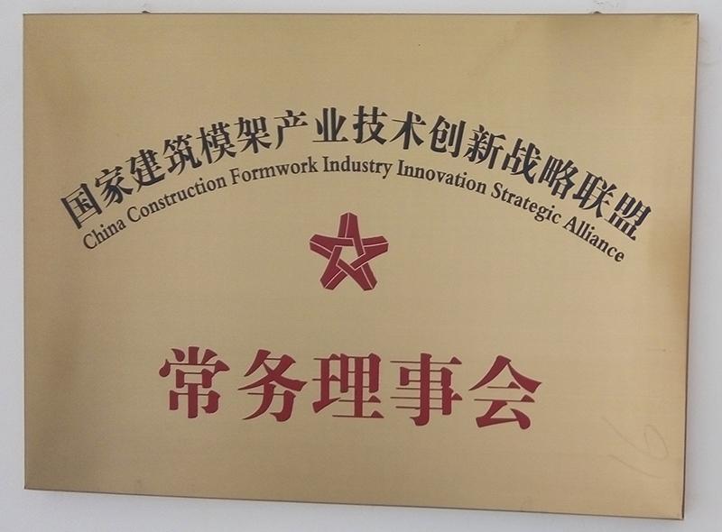 国家建筑模架产业技术创新战略联盟常务理事会