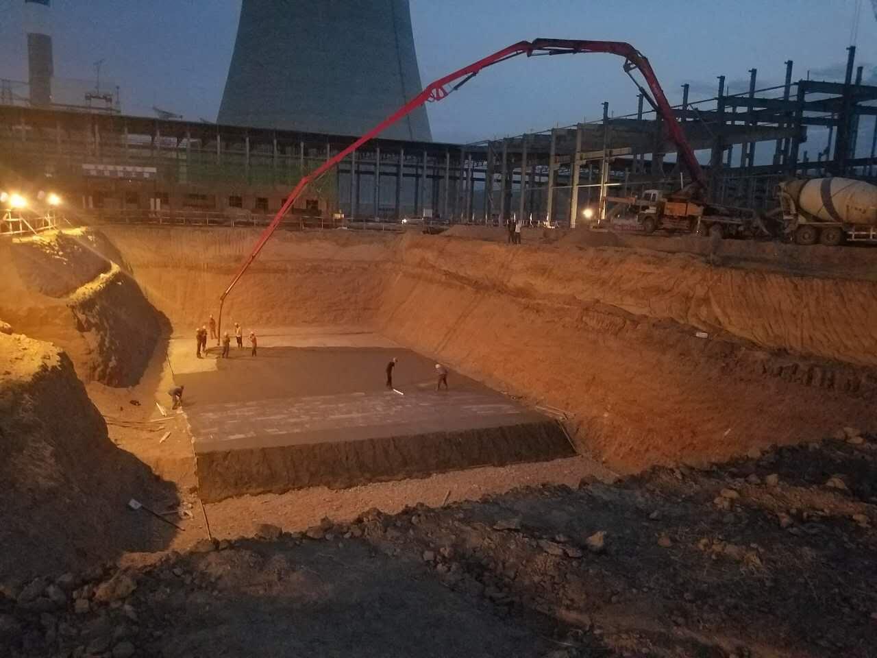 青海西寧陰極銅工程熔煉區域設備供貨及建筑安裝工程總承包項熔煉附屬設施建筑及安裝工程