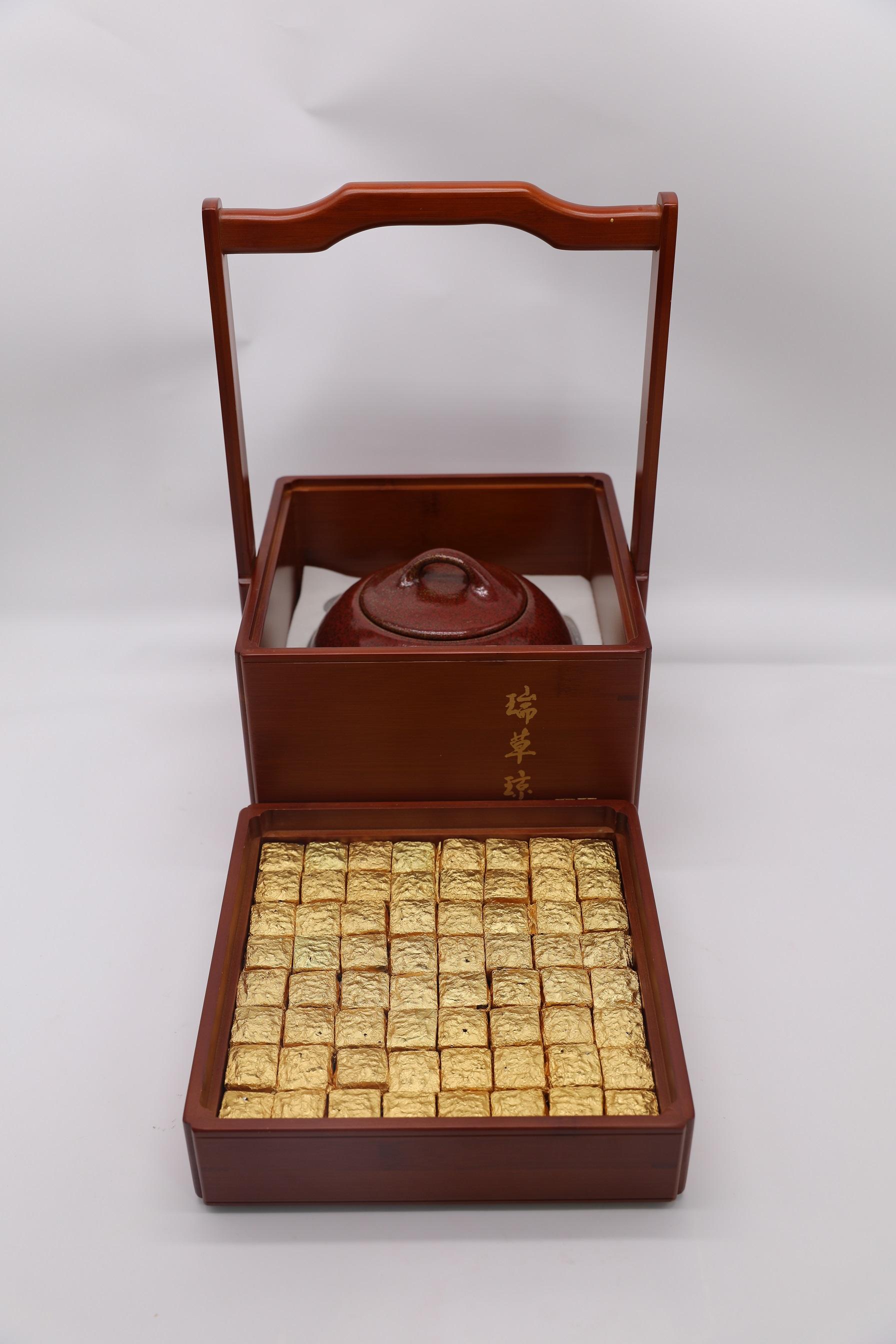 2005年瑞草瓊珠茶膏