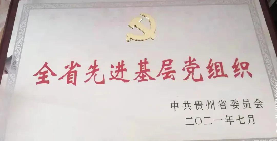 """喜報!貴鹽集團金沙公司黨支部榮獲貴州省委""""兩優一先""""表彰"""