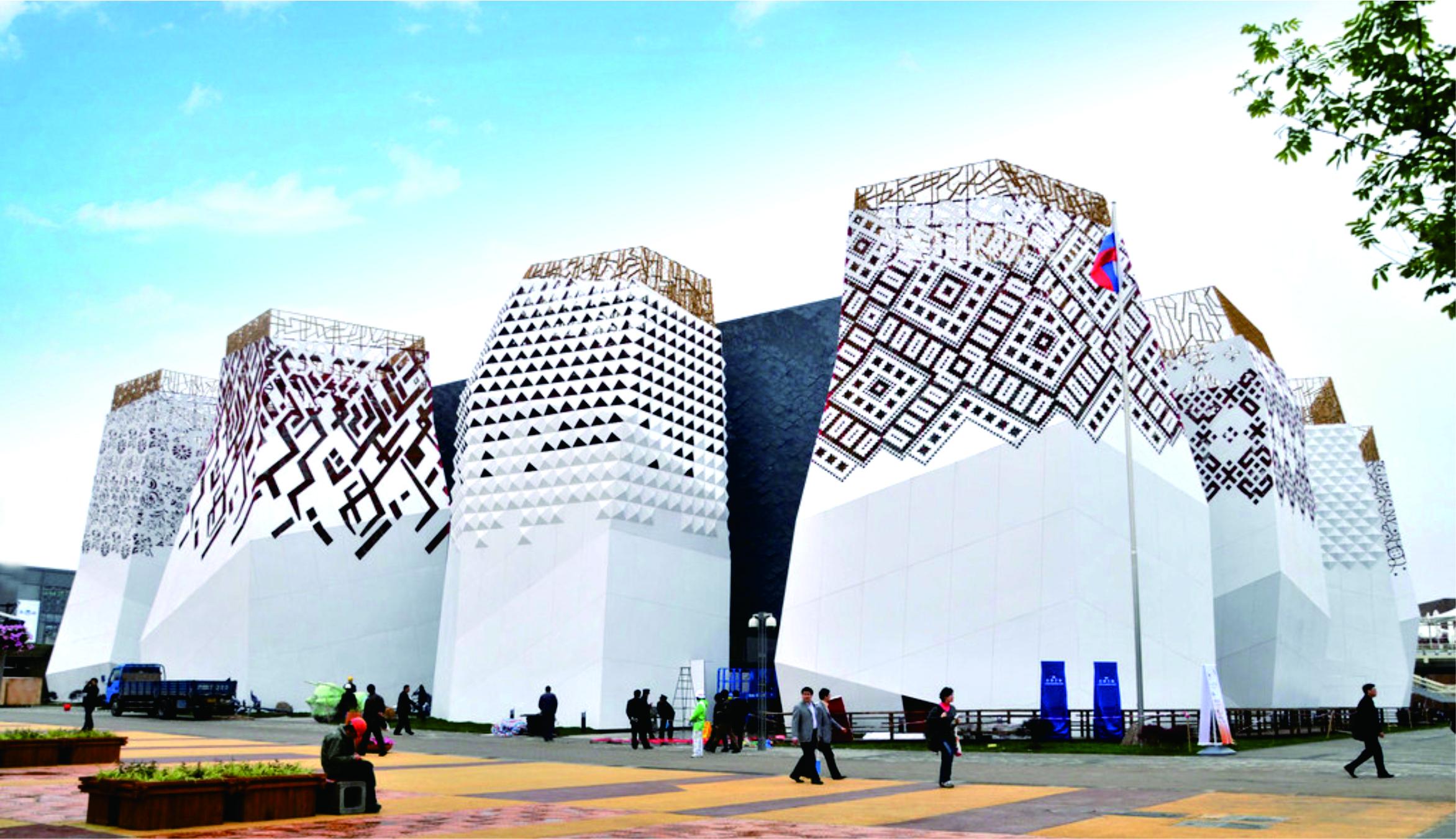 上海市世博會俄羅斯館機電工程