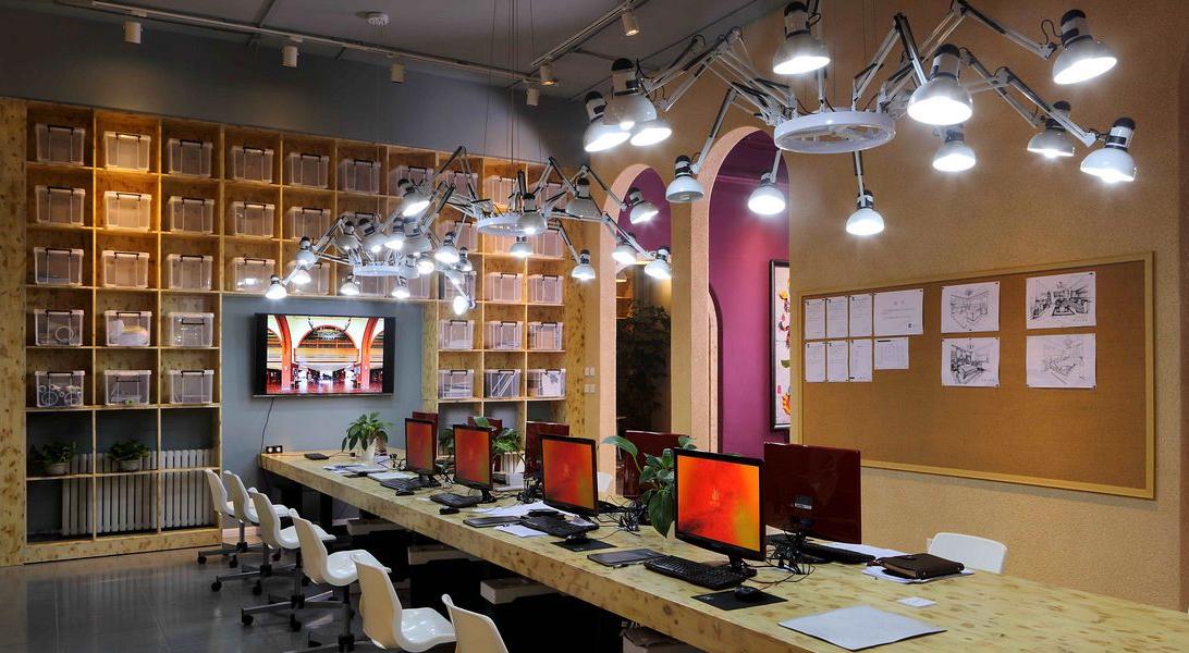 設計師辦公區域