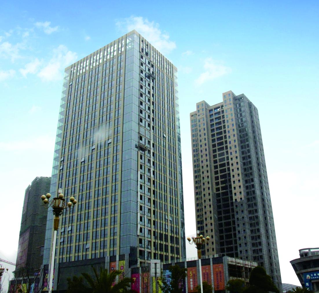 綠地ICC九江大都會城市綜合體項目工程