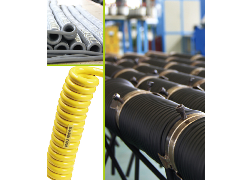 柔性電纜/電子手輪彈簧線/螺旋電纜/高柔電纜