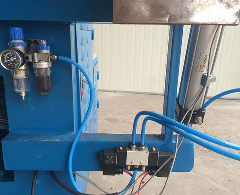 自動切割YJG110-3ZD型卷管機元器件