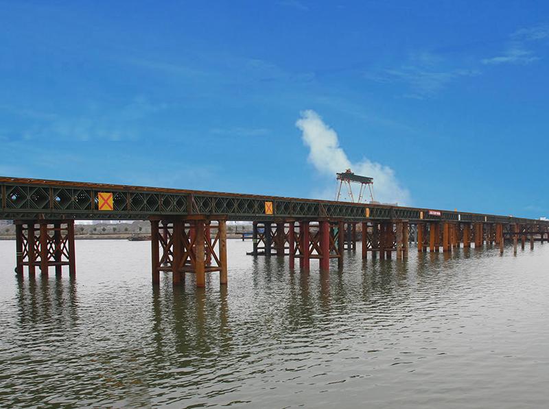 寧波姚江大橋棧橋