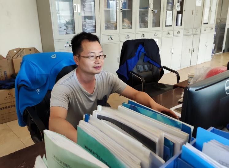 做建功生态文明的排头兵——记广联企业水污染处理工程师吴新江